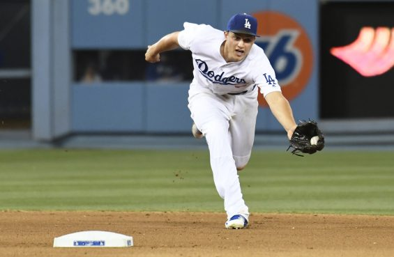 Corey Seager Catch