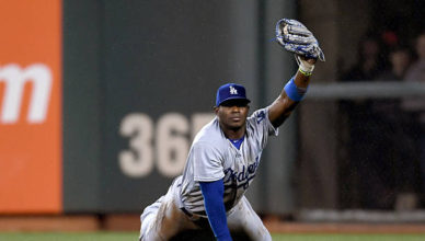 Yasiel Puig Catch