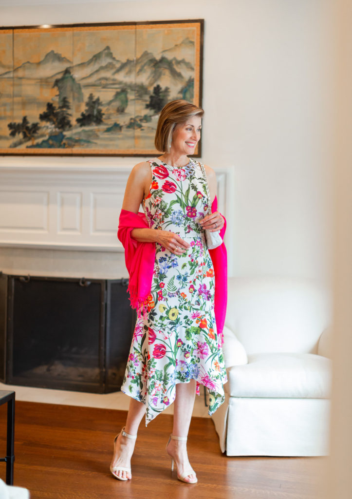 Spring flowers and what-grandmas-wear-for-Easter from Nordstrom