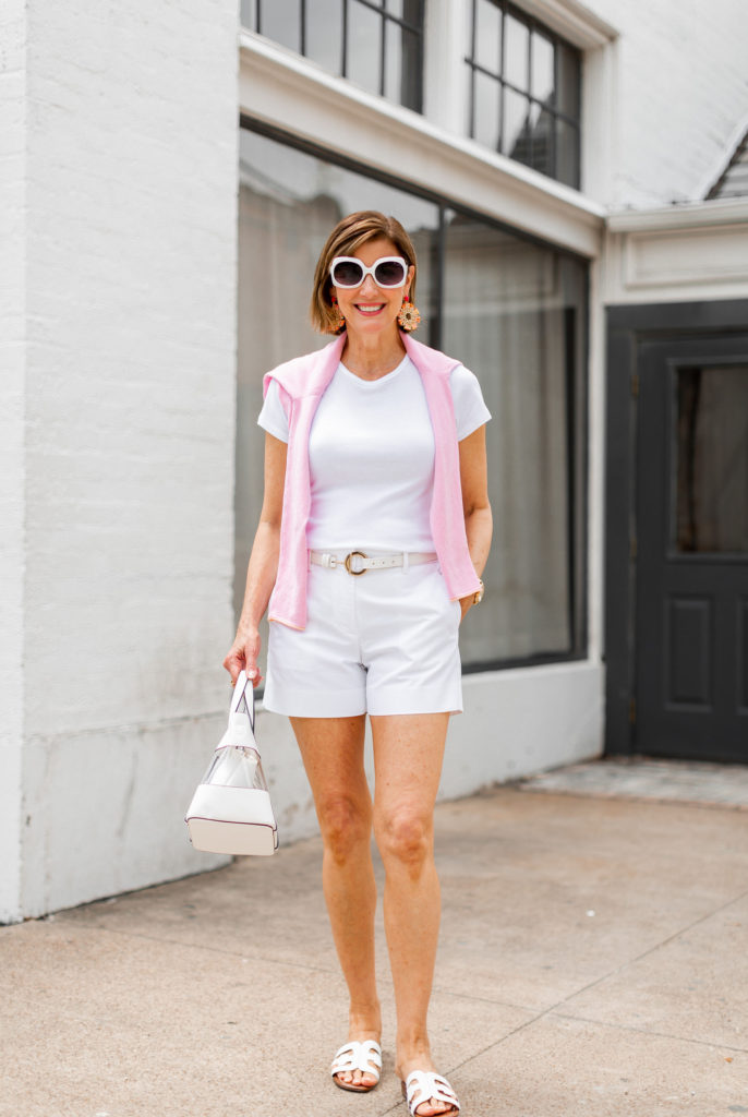 Summer whites for a trip or casual dinner