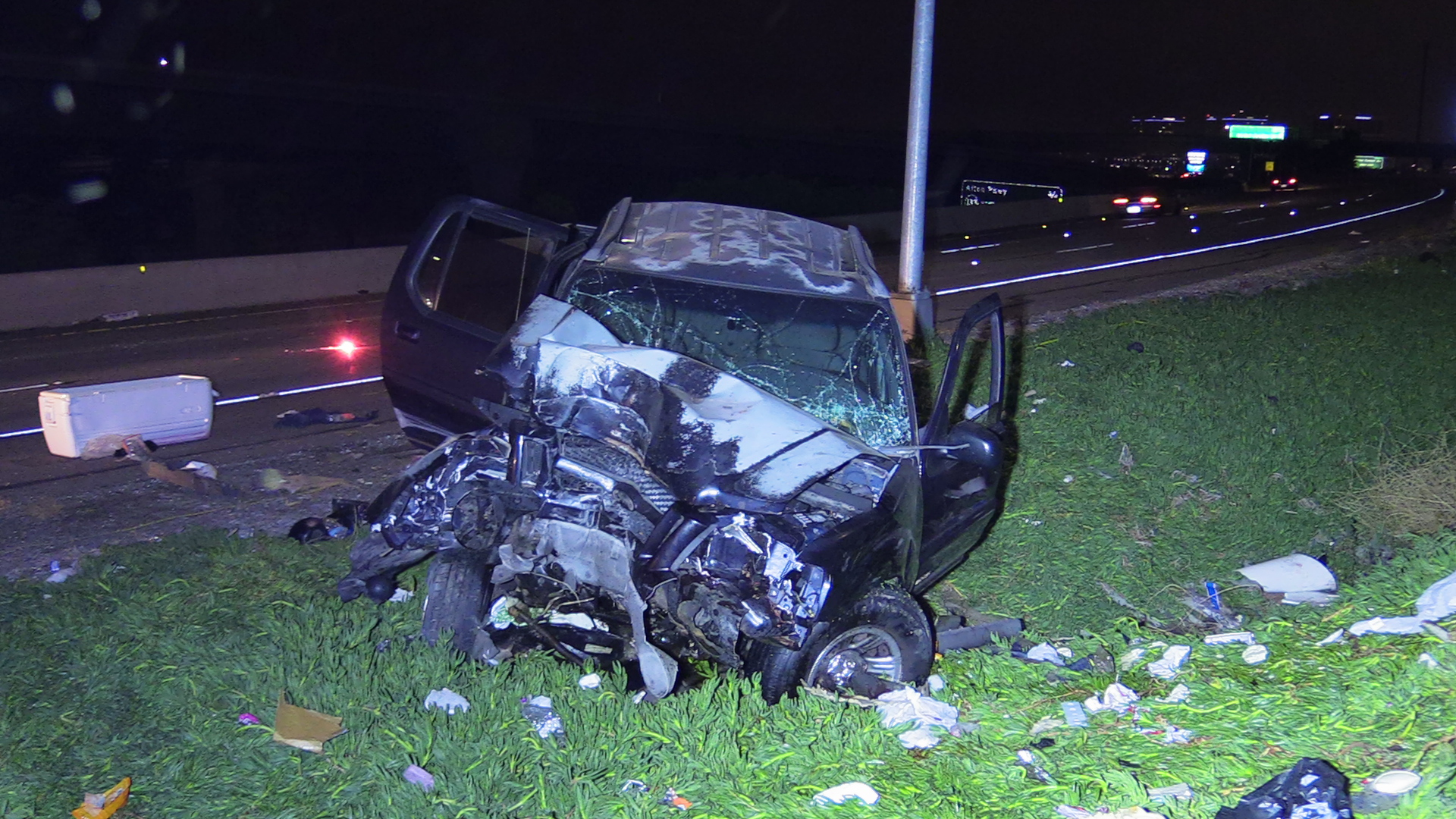 MAN KILLED IN SUSPECTED DUI CRASH ON THE 5 FREEWAY IN IRVINE