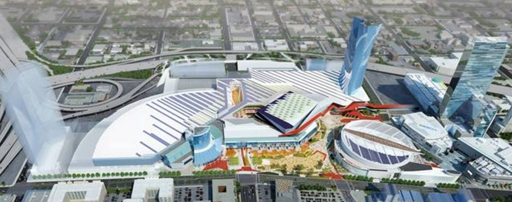 Conv Center Proj Rendering