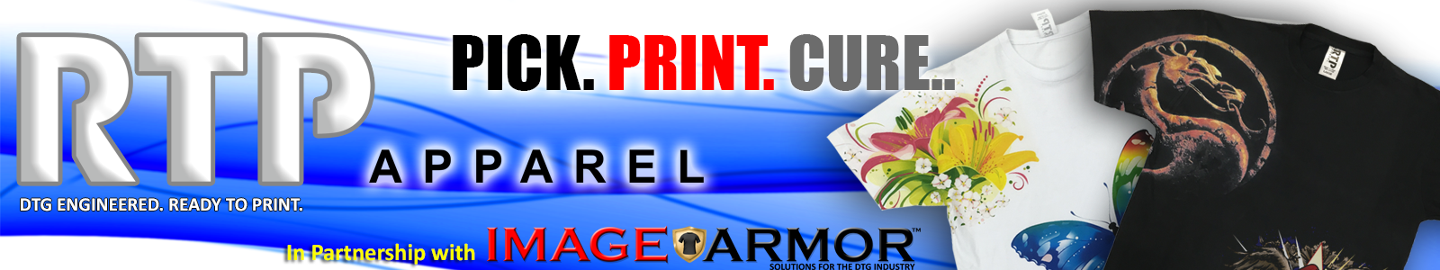 RTP Apparel in Partnership with Image Armor - No More DTG Pretreating