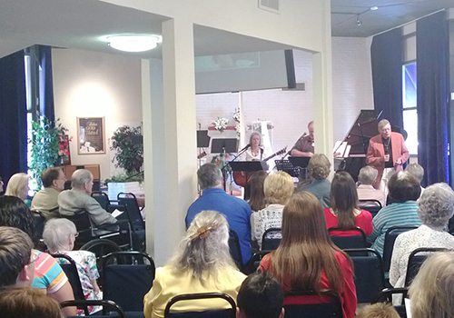 Worship Service at Mill Valley Fellowship