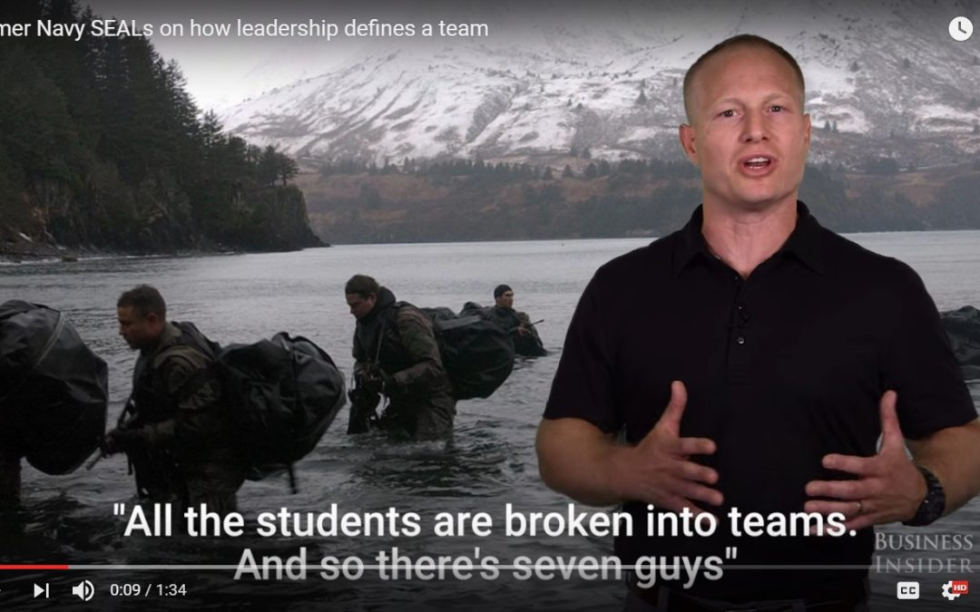 Former Navy SEALs on How Leadership Impacts a Team