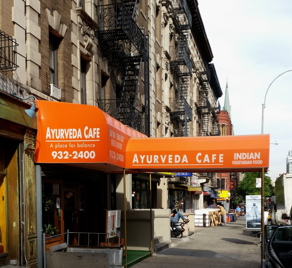 The Ayvurda Café at 706 Amsterdam Ave., NYC