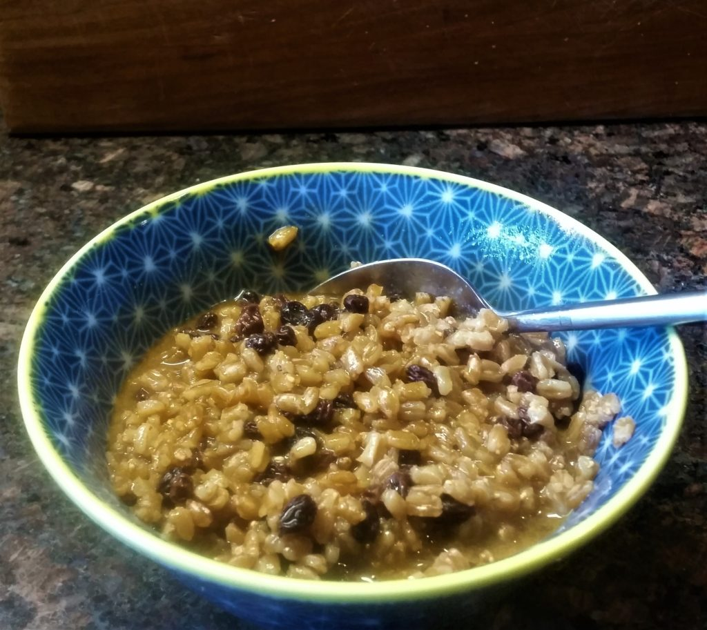 Farro - Sweet or Savory