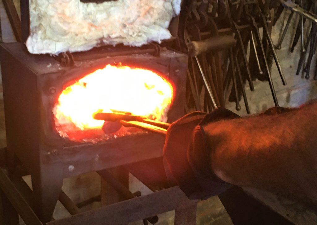 Forging a Kitchen Knife