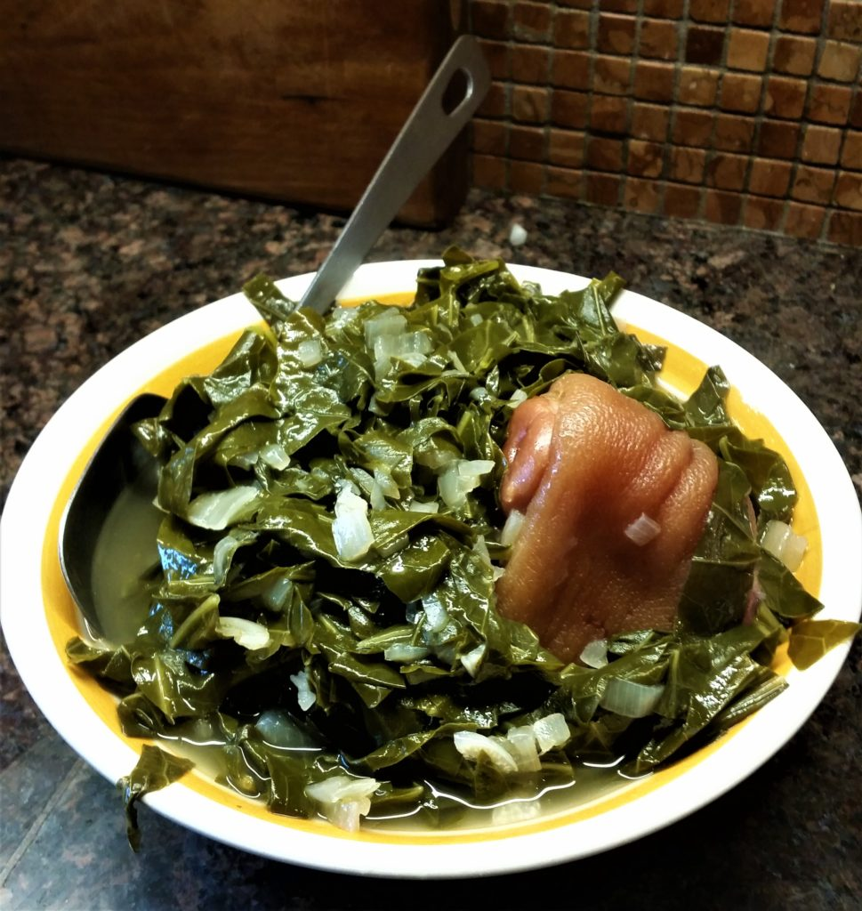 Collard Greens Southern Style