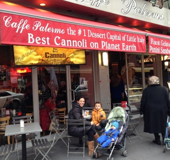 Eating in Little Italy