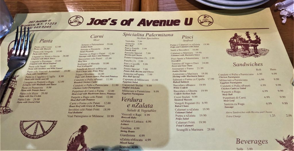JOE'S OF AVENUE U