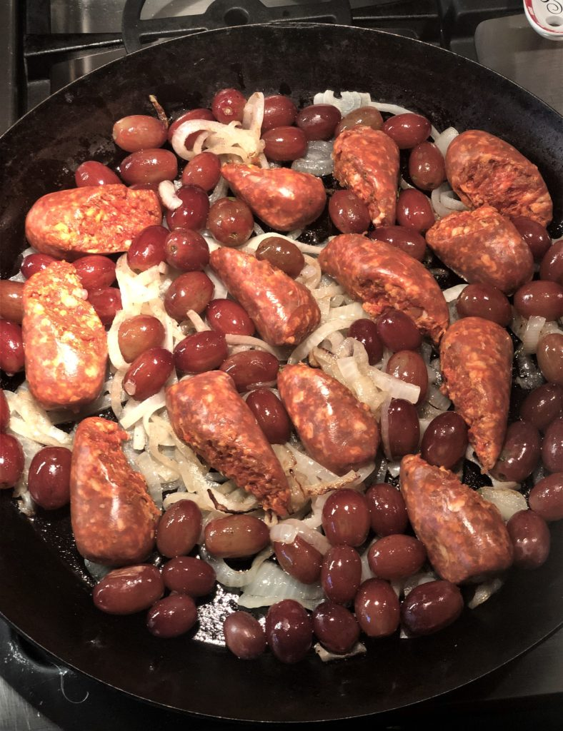 Sausage and Grapes