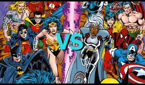 SUPERHERO SHOWDOWN!