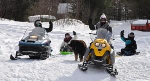 Les filles partent à l'aventure! Vive la neige!!!
