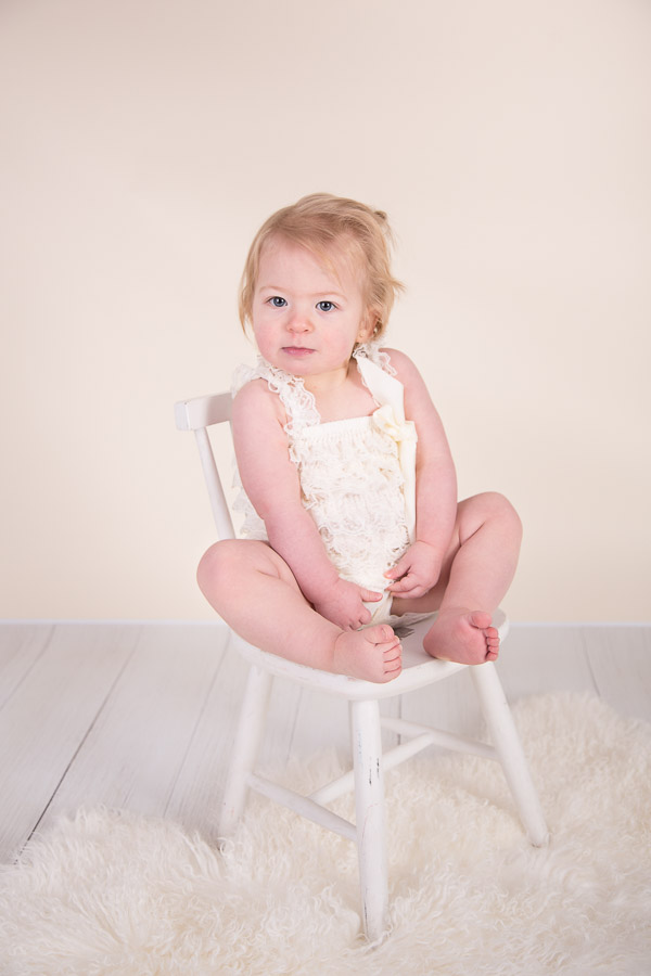 Image of girl from classic children session from Halifax Family Photographer