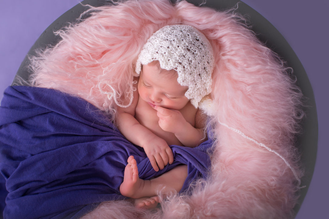 Image from KseniaP.Photography studio newborn session in Halifax,NS