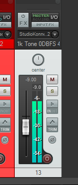 Hardware gain staging (with the DAW in mind).