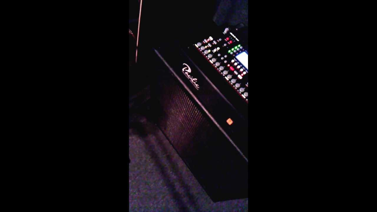4×12 wired & ready for upcoming albums distorted synth tasks