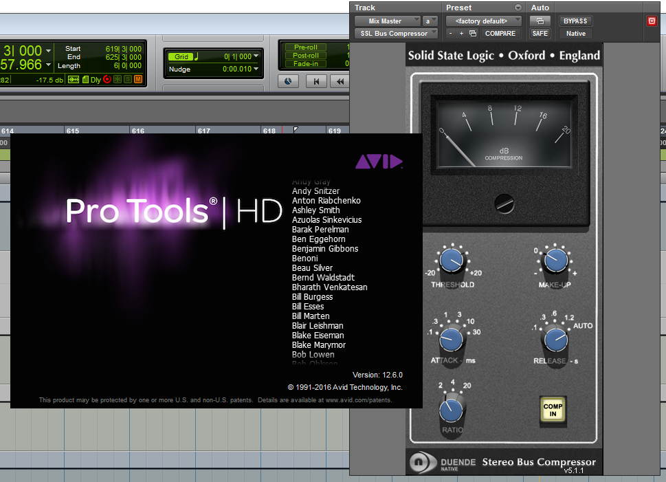 SSL Duende / Pro Tools 12.6 Work Around
