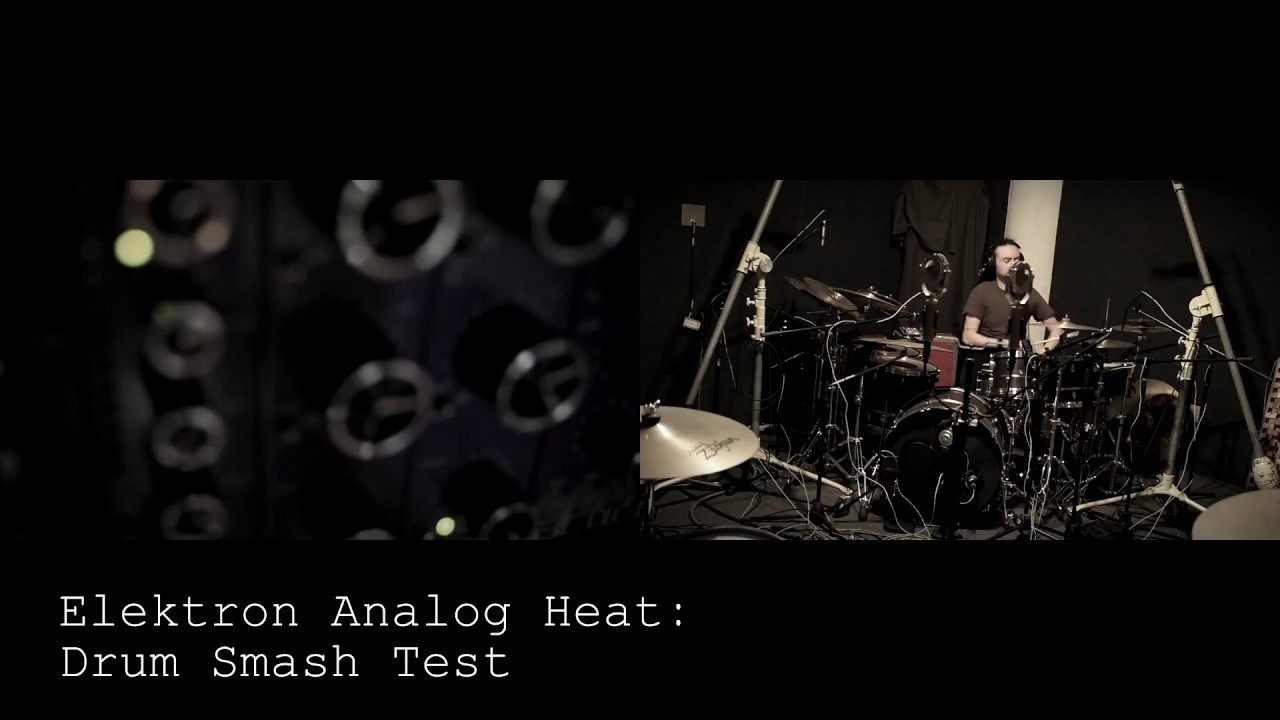 Elektron Analog Heat = Properly smashed to hell drum sounds!