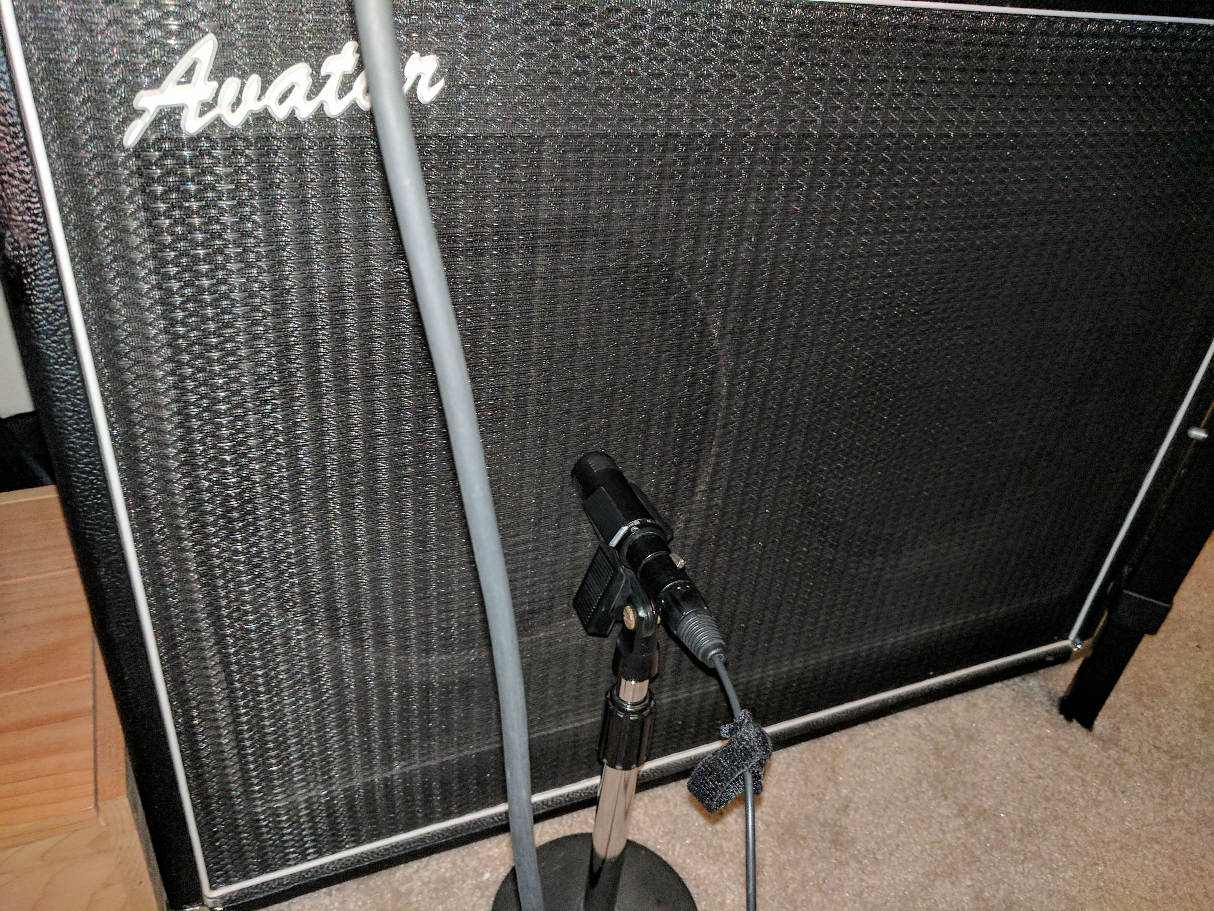 Dynamic Mic on CAB comparison.