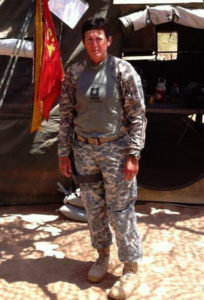 Army 1st Sargent Bianna Yeager