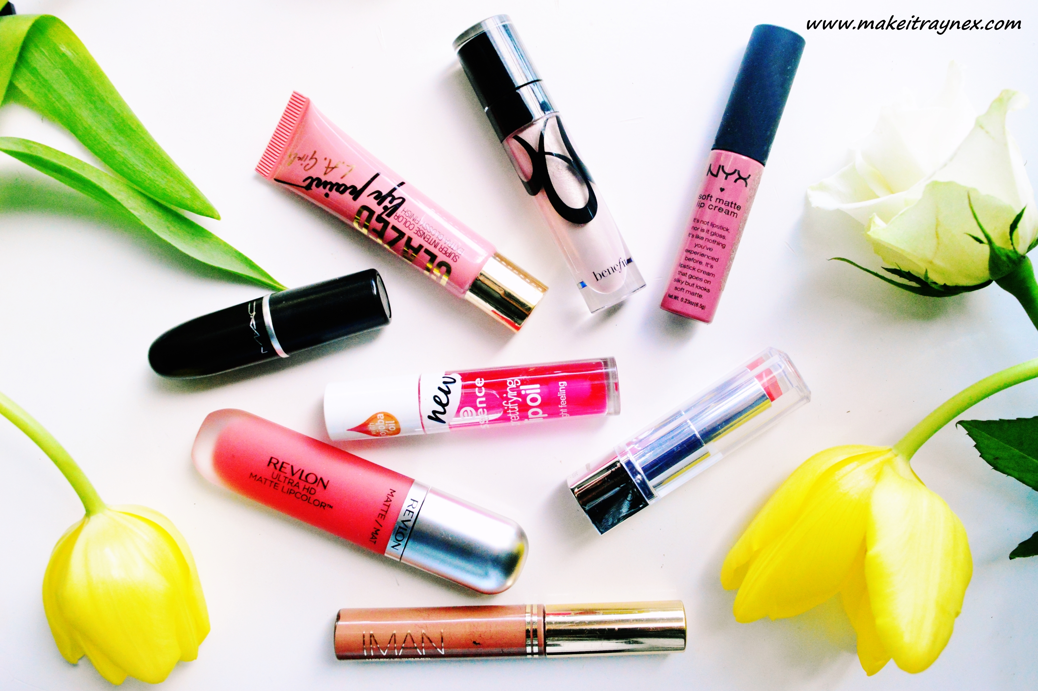 My lip products picks for Spring 2016! {REVIEW}