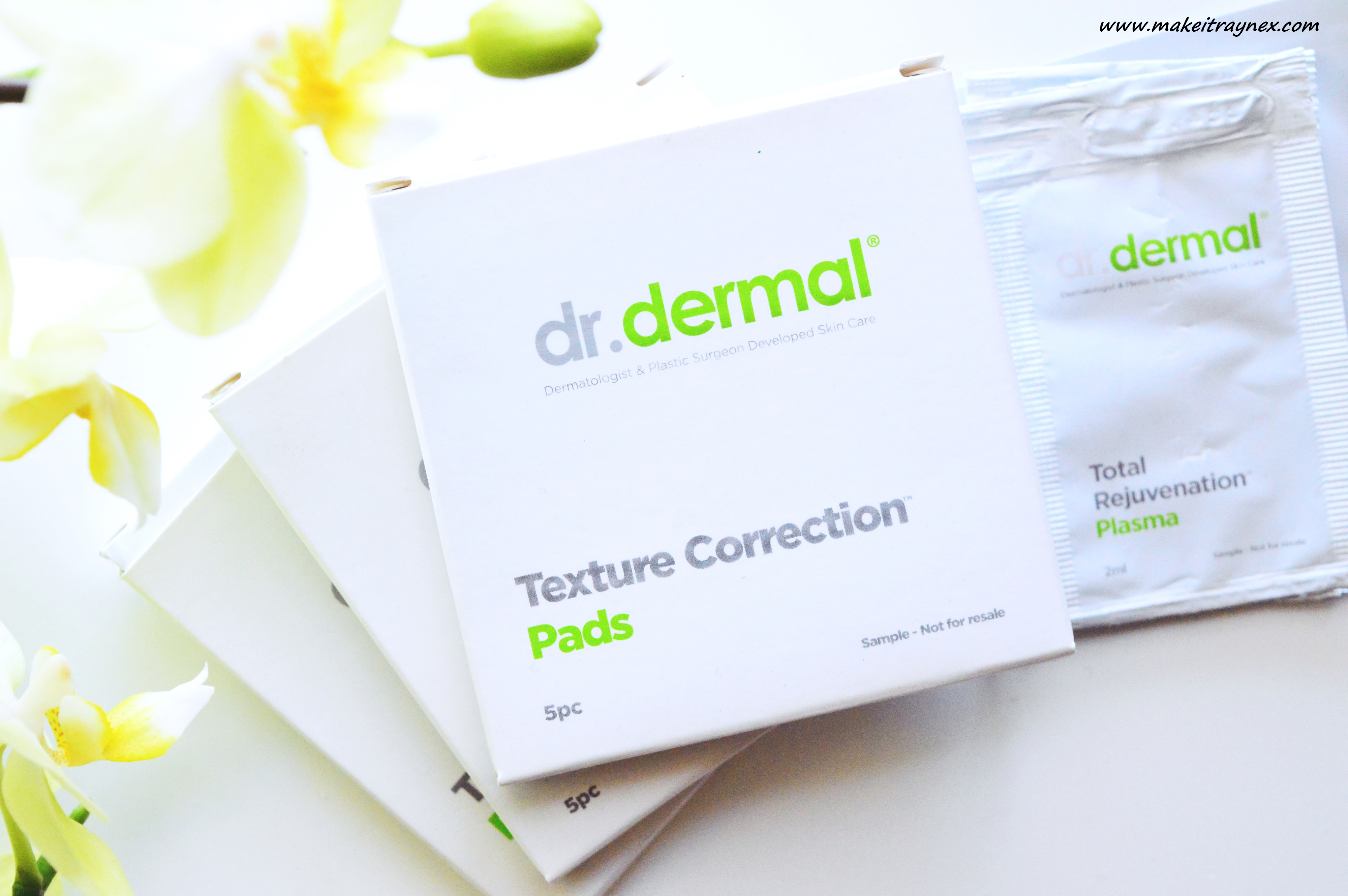 Dr. Dermal Texture Correction Pads & Plasma {REVIEW}