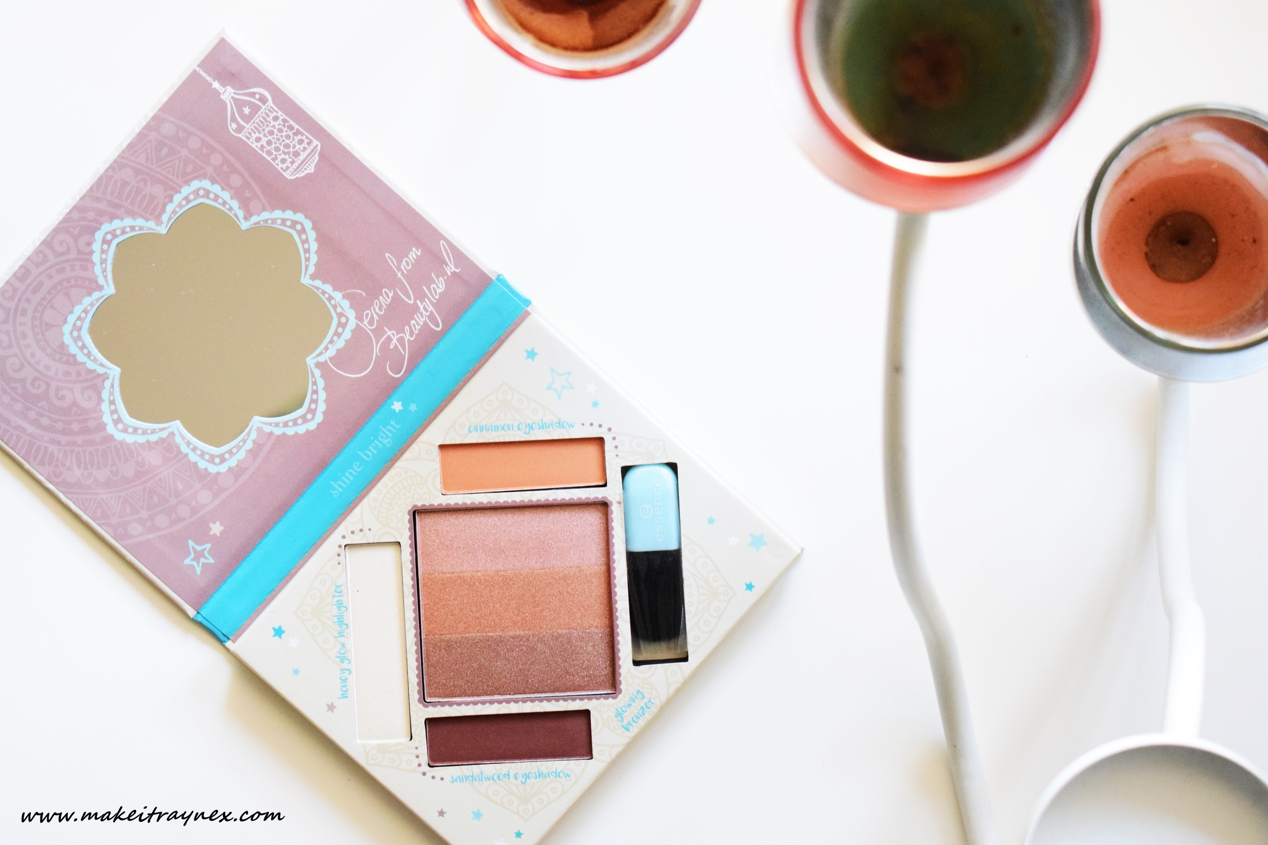 bloggers' beauty secrets palette from essence cosmetics {REVIEW}