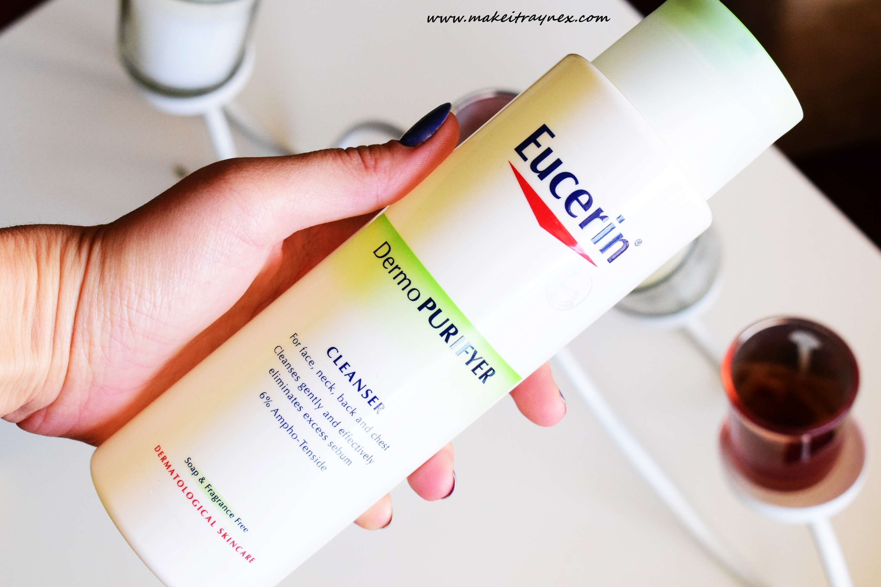 DermoPURIFYER Cleansing Gel from Eucerin {REVIEW}