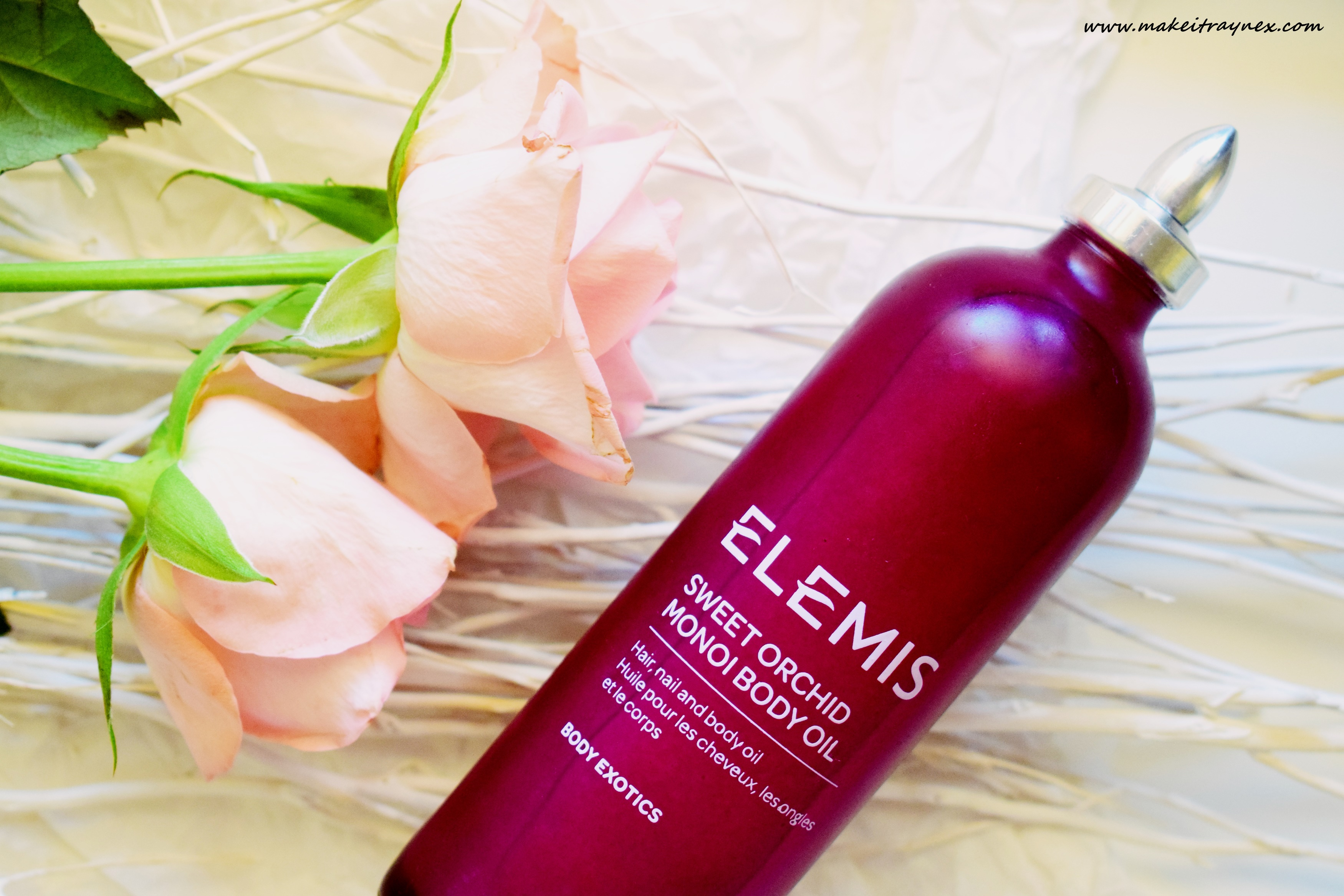 Sweet Orchid Monoi Body Oil from Elemis {REVIEW}