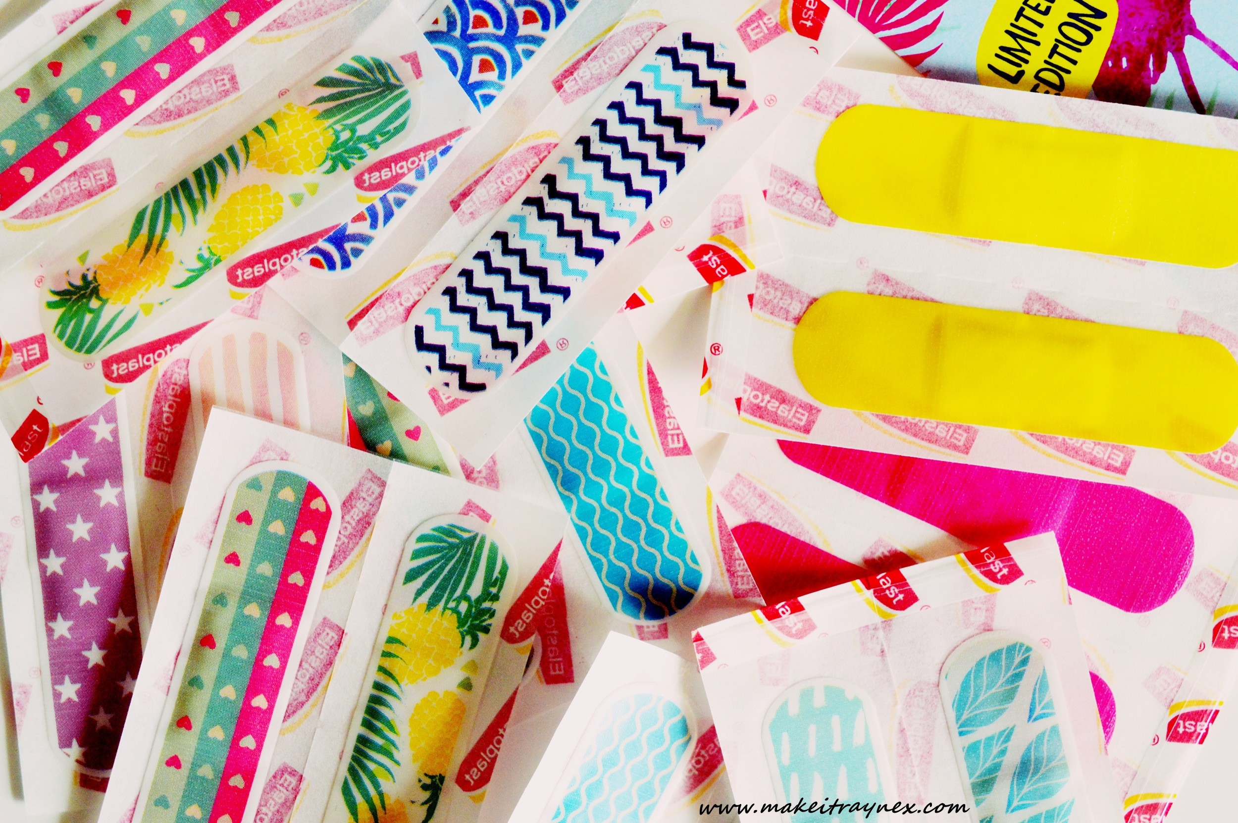 #Elastoplastfashionfix Limited Edition Packs {HERE'S & THERE'S}