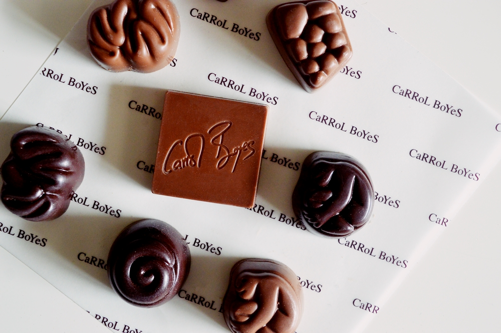 Carrol Boyes is expanding to CHOCOLATES! {FOOD}