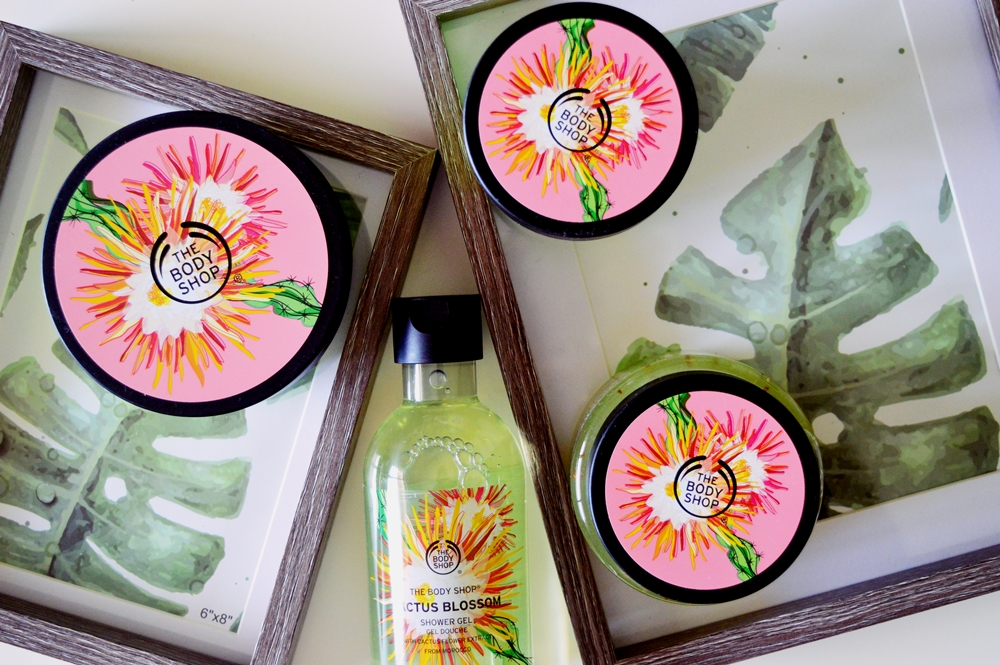 Cactus Blossom; your new favourite range from The Body Shop! {REVIEW}