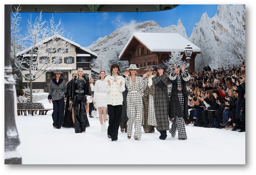 CHANEL AUTUMN-WINTER 2019/20 READY-TO-WEAR {PRESS RELEASE}
