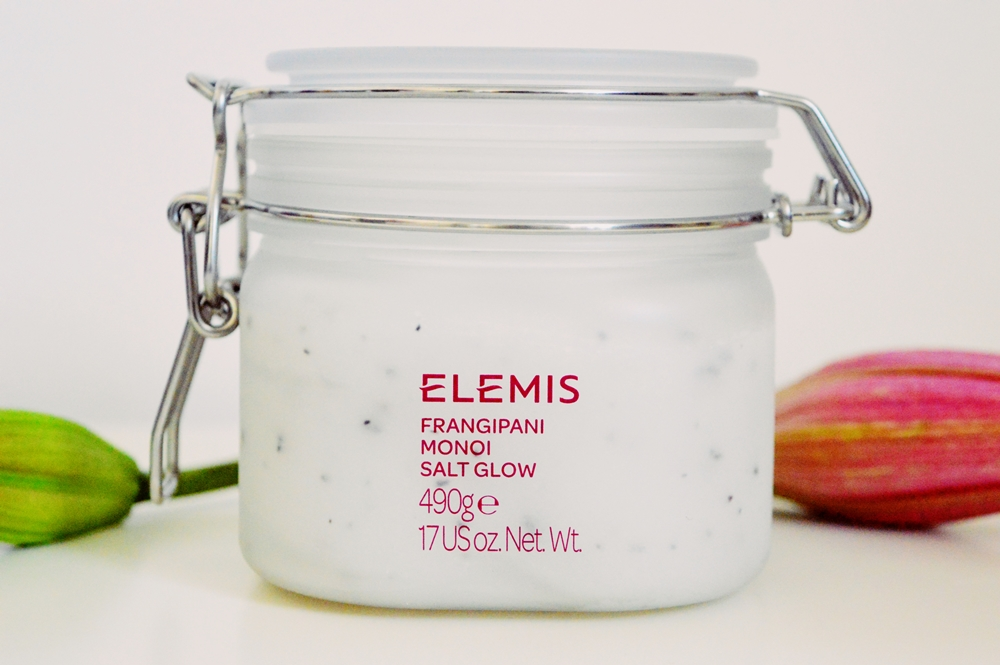 A luxurious night-time spoil… ELEMIS Frangipani Monoi Salt Glow {REVIEW}