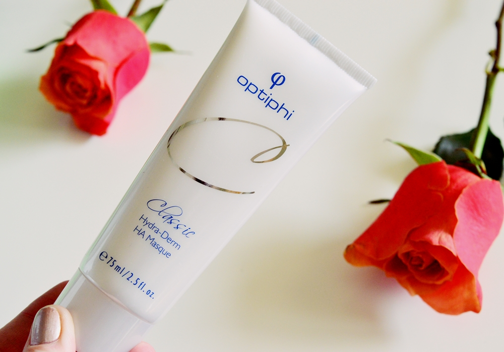 OPTIPHI: A new brand on my radar – I have been LOVING the Hydra-Derm HA Masque {REVIEW}