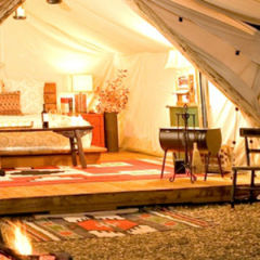 Glamping: Back to Nature in Comfort and Style