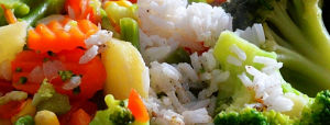 Japanese Rice with Mixed Vegetables