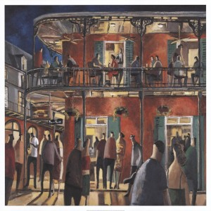 New Orleans Streets by Didier Lourenco Art Print. Clcik for more.
