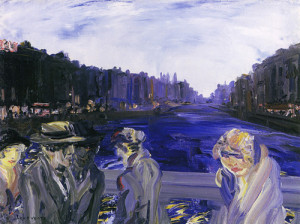 Jack Yeats - O'Connell Bridge - Find out more here.