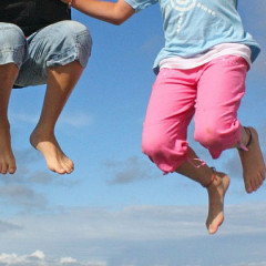 Mini Trampoline: Keep Fit for Little Ones