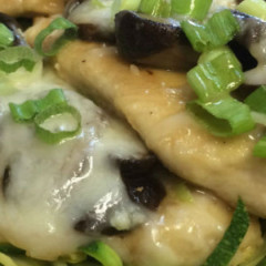 Smothered Chicken with Mushrooms