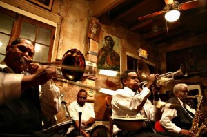 Jazz at the Preservation Hall - Photo by Rickz / Flickr Creative Commons.
