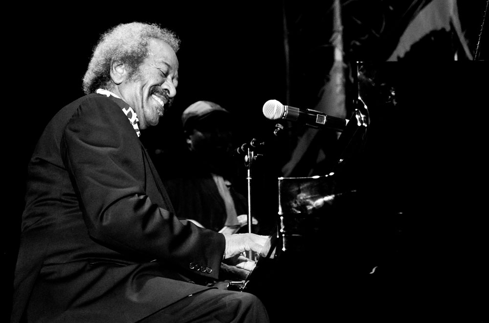 "Mr. Allen Toussaint at the 34th Annual Jazz Fest with his group ""The Bright Mississippi."" - photo by Chris Bentley / Flikr Creative Commons. Read Chris's review of the show here >"