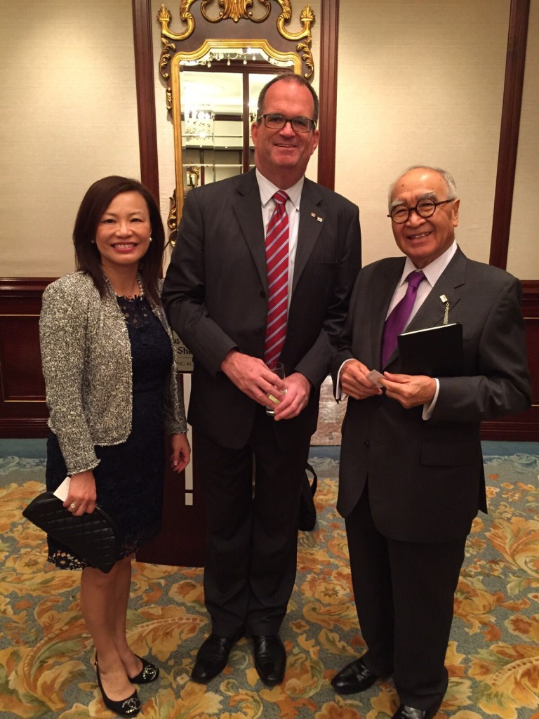 Katie, Dr Wong and the Consulate General of Canada