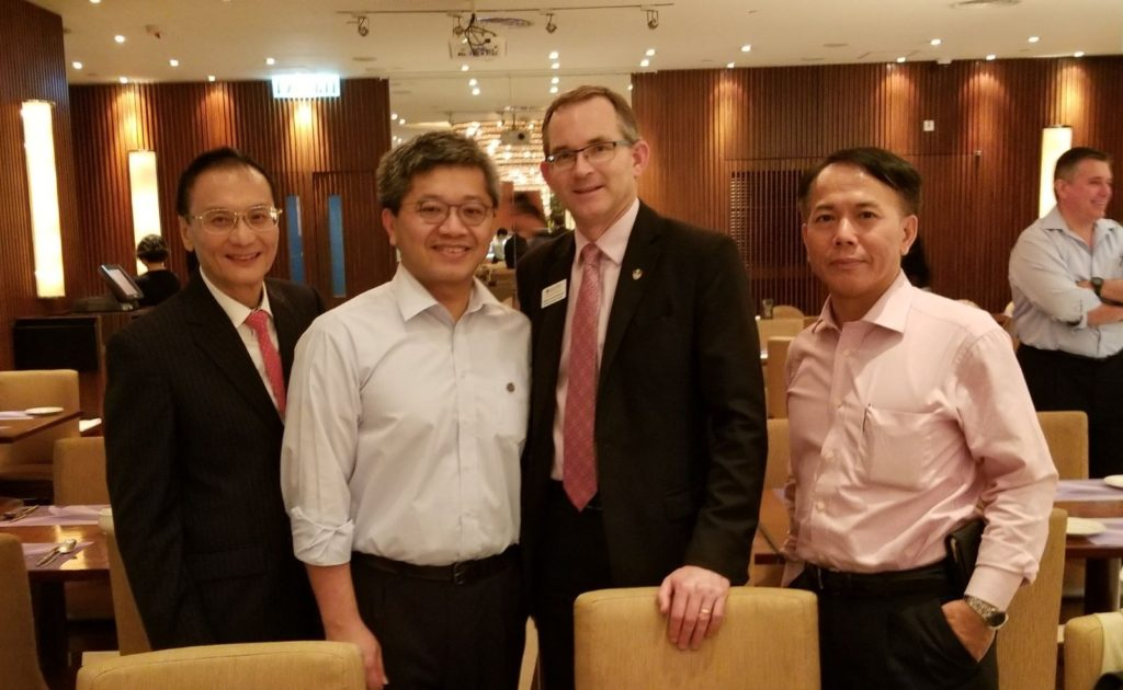 From left: William Lau, Eric Mok, Rob and Harold Ho.