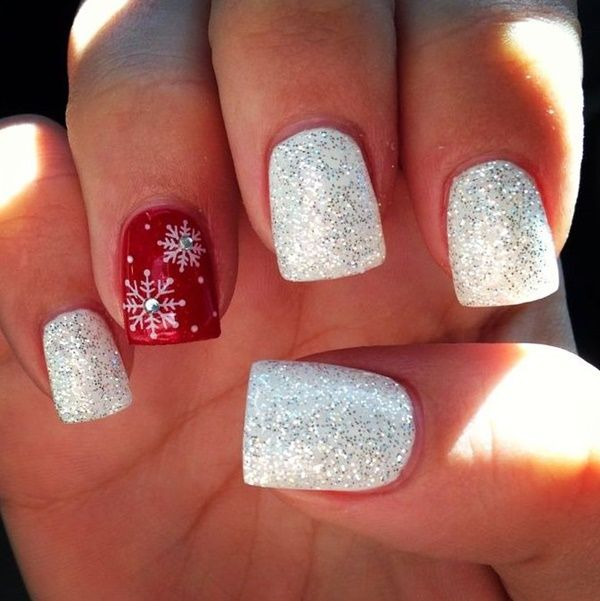 Christmas Mood Nails Top6trends Style Fashion