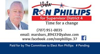 Ron Phillips business card