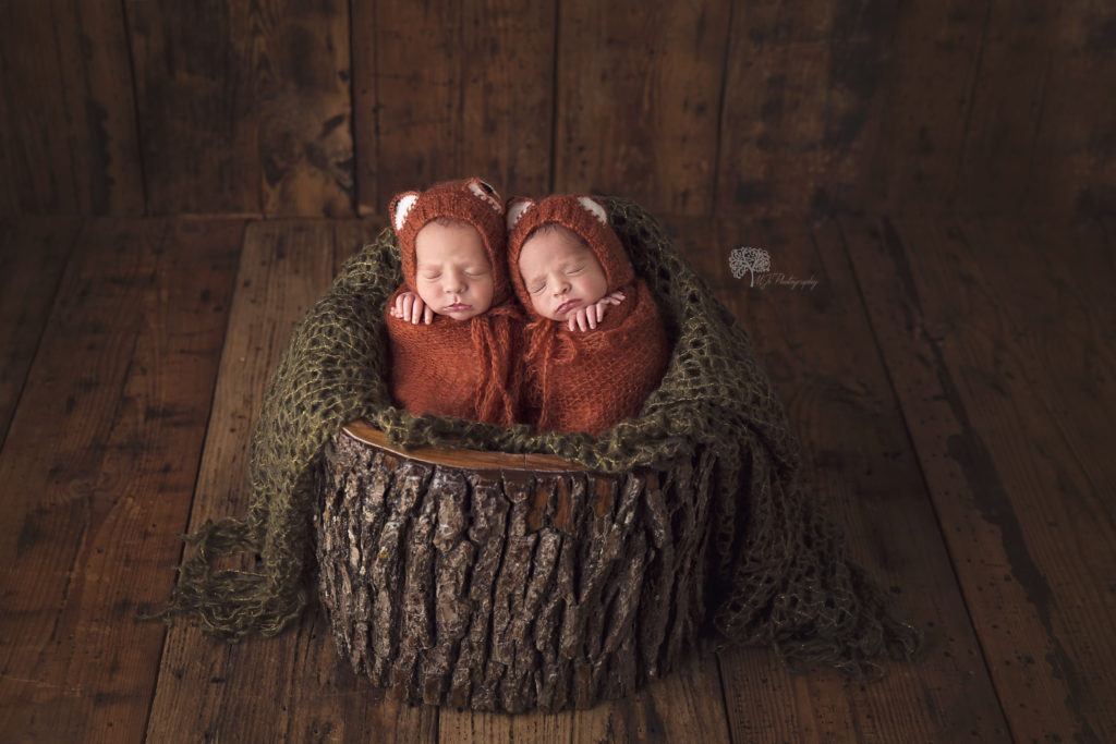 Katy Texas twin newborn photographer